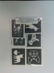 10 - 100 x French bulldog dog mixed stencils for etching on glass